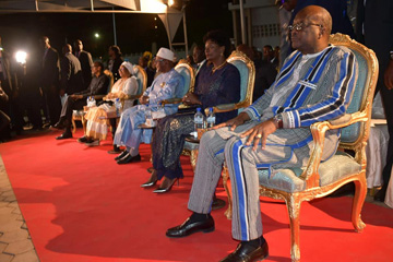 IBK à Ouagadougou : La nuit du Mali célébrée avec sa diaspora
