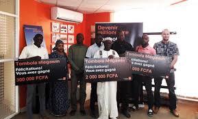 Tombola Mégawin Orange Mali: Les heureux gagnants du mois de mars reçoivent leurs gains