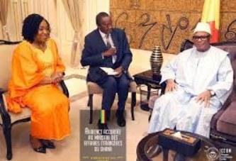 Mali-Ghana : Le Président IBK reçoit Madame le ministre des Affaires Etrangères du Ghana