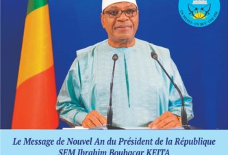 IBK l'a dit dans son adresse à la nation :  -la rencontre de Pau le 13 janvier à Paris sera décisive  -le Mali est l'un des pays les moins endettés de l'Afrique de l'Ouest -Il est nécessaire d'organiser une conférence sociale  -la guerre absorbe 24% des ressources budgétaires de notre pays