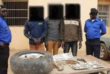 Police nationale/commissariat du 14e arrondissement : Un trio de voleurs de véhicules mis au gnouf par le Commissaire Divisionnaire Kadiatou dite Kady Tounkara