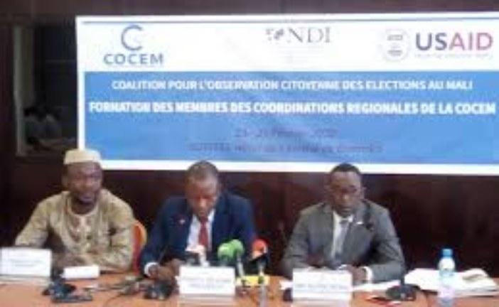 Observation des élections législatives 2020 : Renforcement de capacité des membres de la COCEM