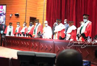 Cour constitutionnelle : les 9 sages prennent fonction