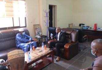 Rectorat de l'USJPB : Le ministre Amadou Keita rencontre les responsables