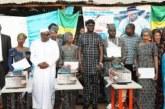 Groupe scolaire Biasson : 1ère promotion de Coupe et Couture du CIC 2018-2020 baptisée Mamadou Oumar Sidibé