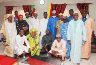Familles fondatrices de Bamako : Les membres du parti IRMA reçus par les patriarches