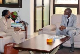 Coopération Mali-Banque mondiale : le Ministre reçoit en audience la nouvelle Directrice des Opérations au Mali