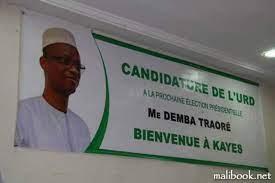 Course à la candidature de l'URD : Après Mamadou Igor et Boubou Cissé, Me Demba Traoré déclare sa candidature