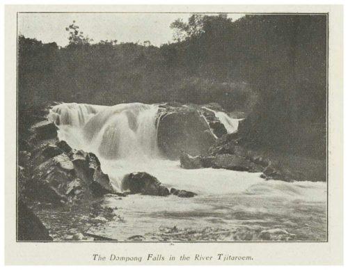 Geotrek Curug Jompong Tahun 1918