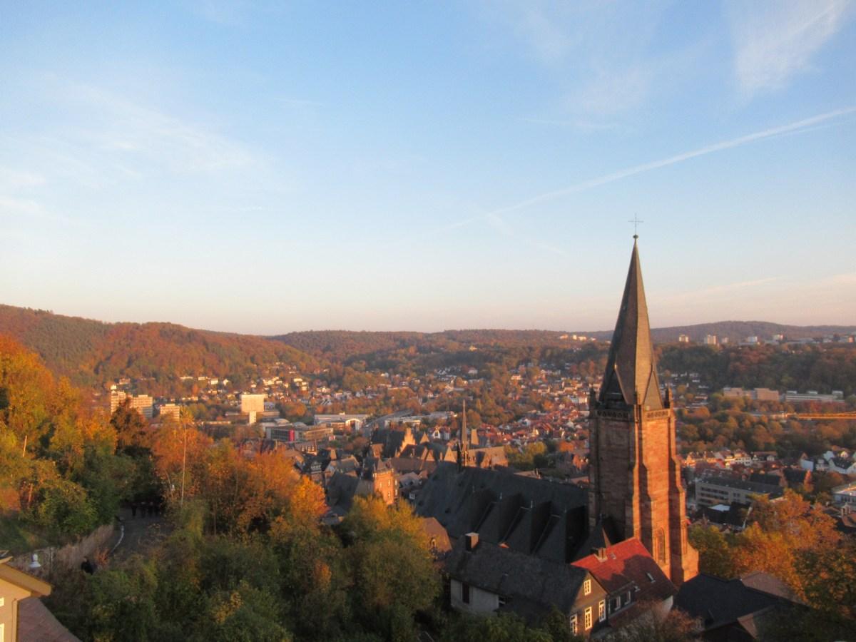 Marburg, Ibukota Tuna Netra Jerman