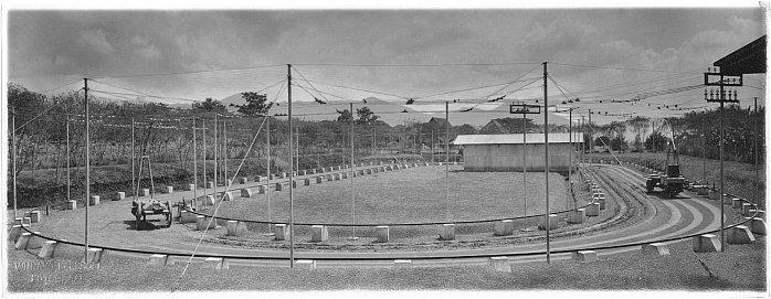 Foto Udara Tegallega 1933 dan Sekarang