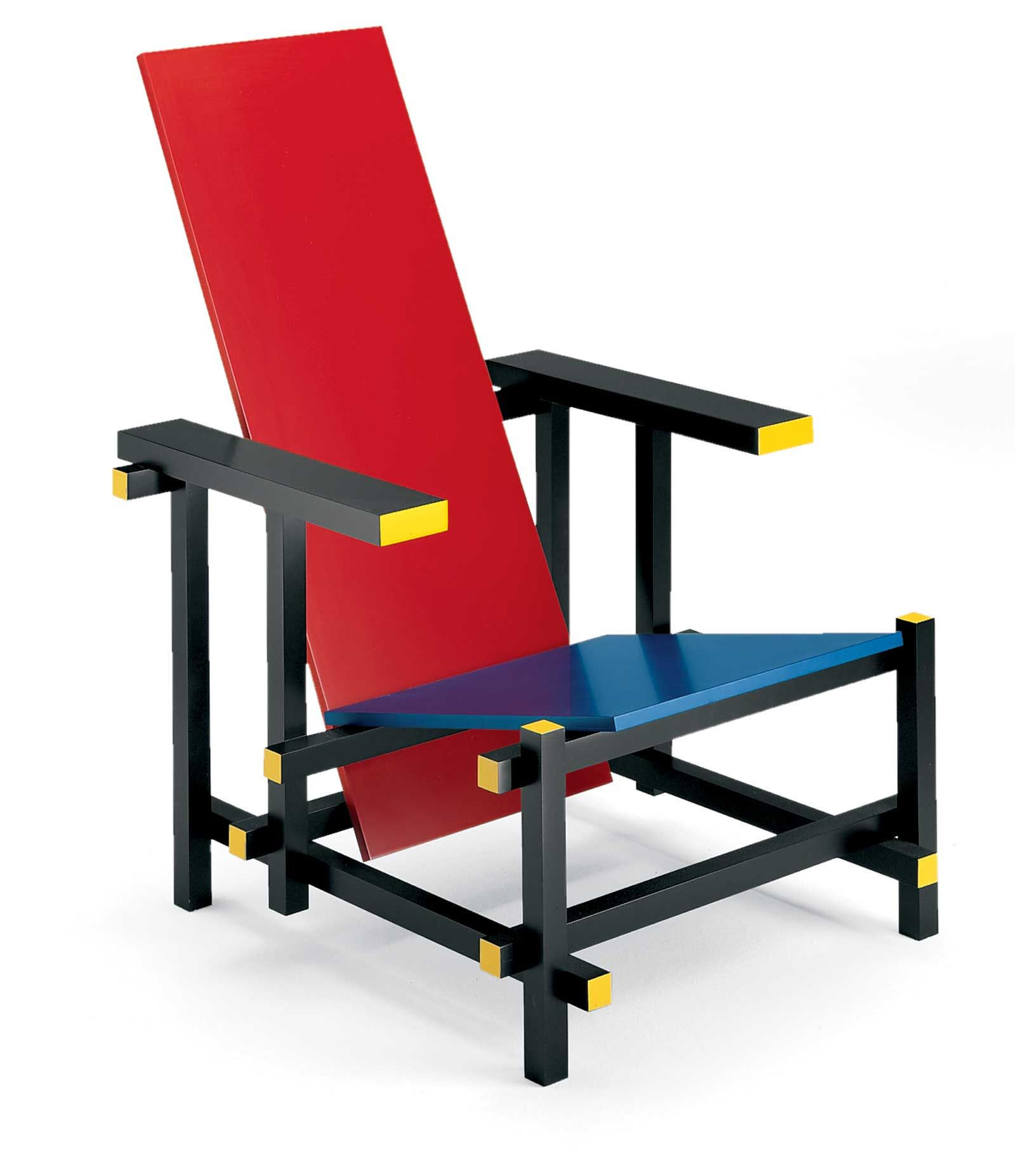 red blue chair covers for winter malik gallery collection gerrit thomas rietveld and