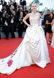 Elle Fanning - Vivienne Westwood haute couture