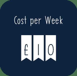 cost per week
