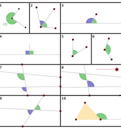 Geometry - Summary - Angles [ 1200 x 1200 Pixel ]