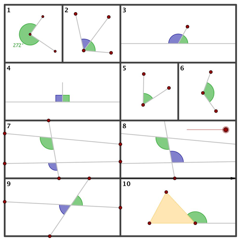 medium resolution of Geometry - Summary - Angles
