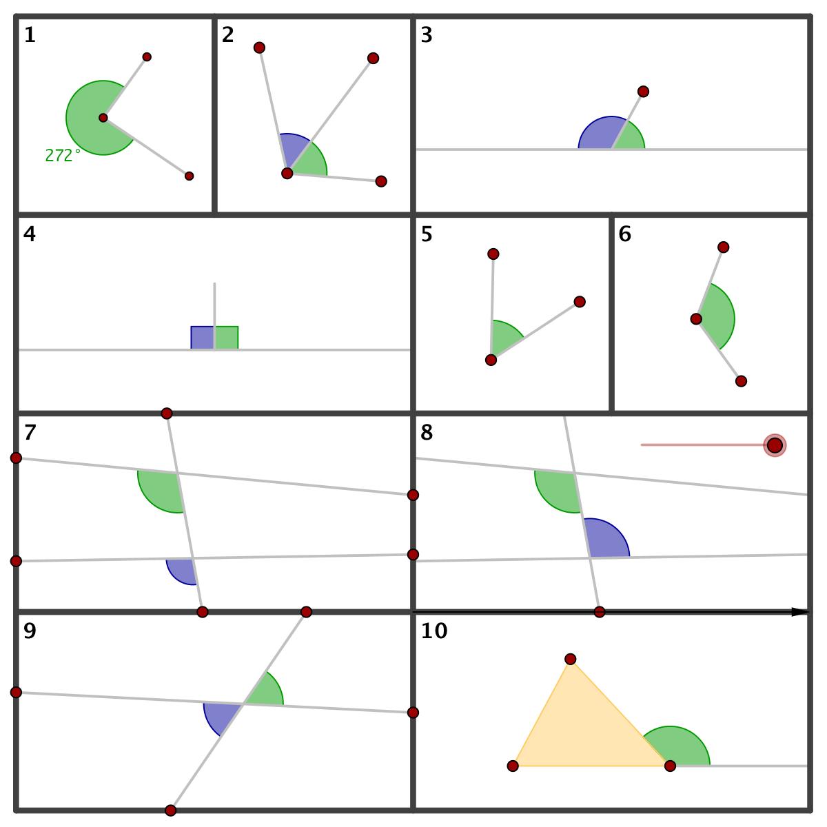 hight resolution of Geometry - Summary - Angles