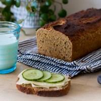 Baka min enkla glutenfria limpa utan jäsning - recept ur min brödbok