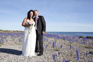 Bröllop blåeld sysne udd veronica Arne