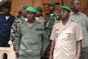 La junte malienne autour du capitaine Sanogo. Crédit photo: maliweb