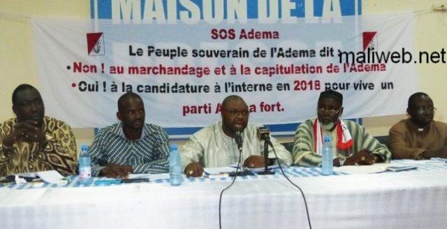 Présidentielle de 2018: SOS Adema exige la candidature interne du parti de l'abeille