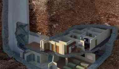 Rumah Tahan Serangan Bom Nuklir