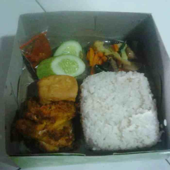 nasi kotak pekalongan
