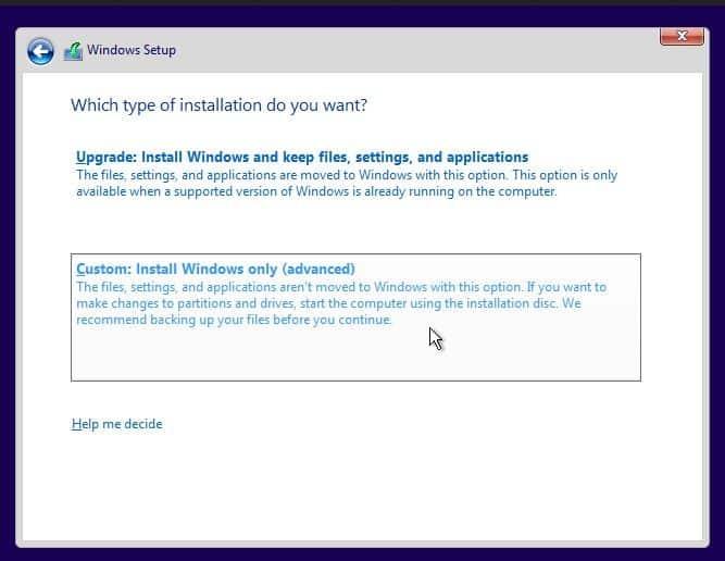 Cara Instal Ulang Windows 10 Step 9