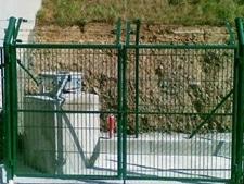 Puerta-serie-redonda Materiales de vallados