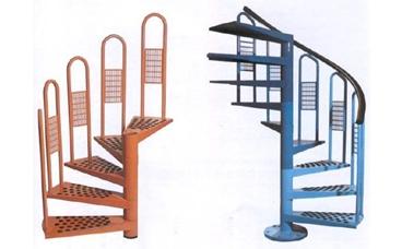 escalera-caracol-metalica Escalera de caracol