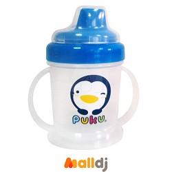 藍色企鵝 PUKU Petit 水杯水壺 藍色企鵝 PUKU Petit PUKU 2階段硬式P.P.鴨嘴練習杯 -- MallDJ親子購物網