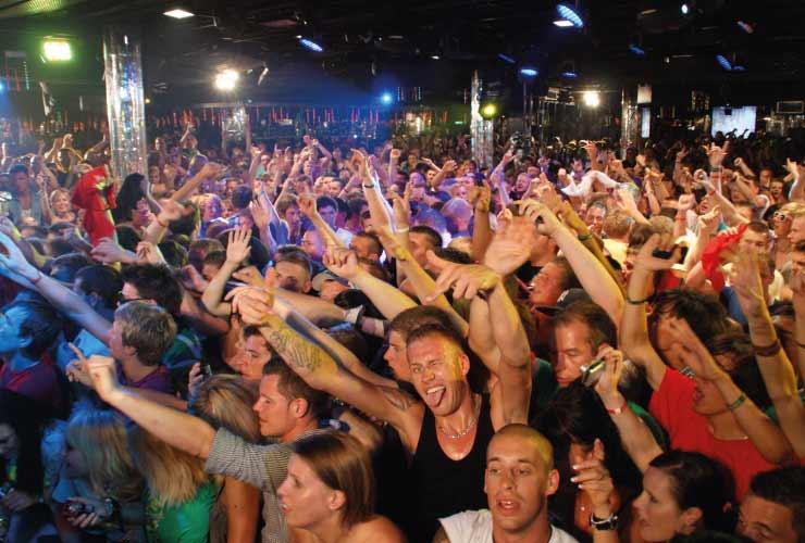 Discos Party Nightlife am Ballermann auf Mallorca