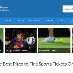 Sports Website Designs