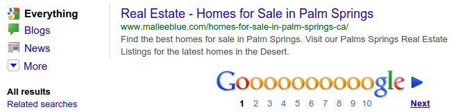 keyword project - real estate SERP Snippet Tool