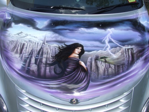 Custom Car Airbrush Graphics