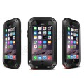 Of black best quality waterproof shockproof aluminum case for iphone 6