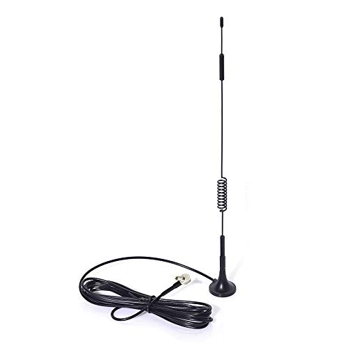 Eightwood Wideband 4G LTE Cellular Antenna TS9 Male with