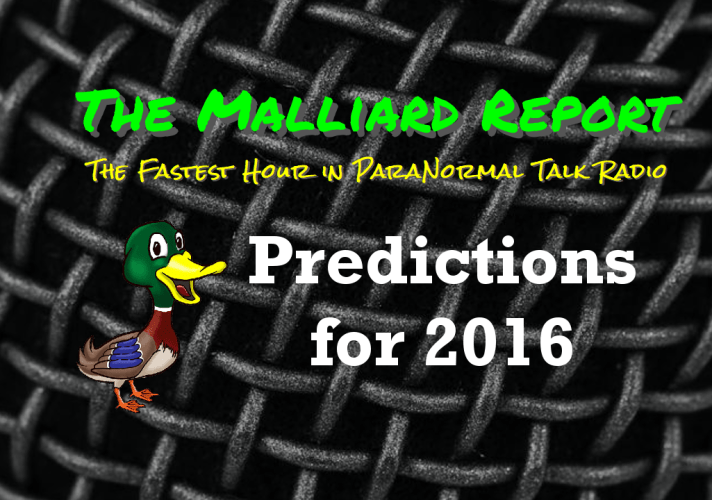 Predictions for 2016