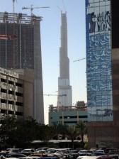 Burj Dubai imBau