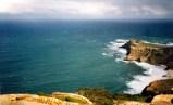 Das Kap von Cape Point aus