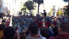 Die erste Prozession