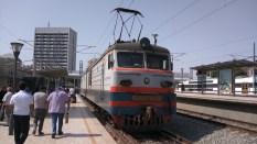 Ankunft in Baku