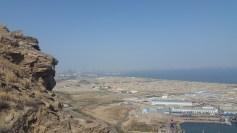 Aussicht auf Baku