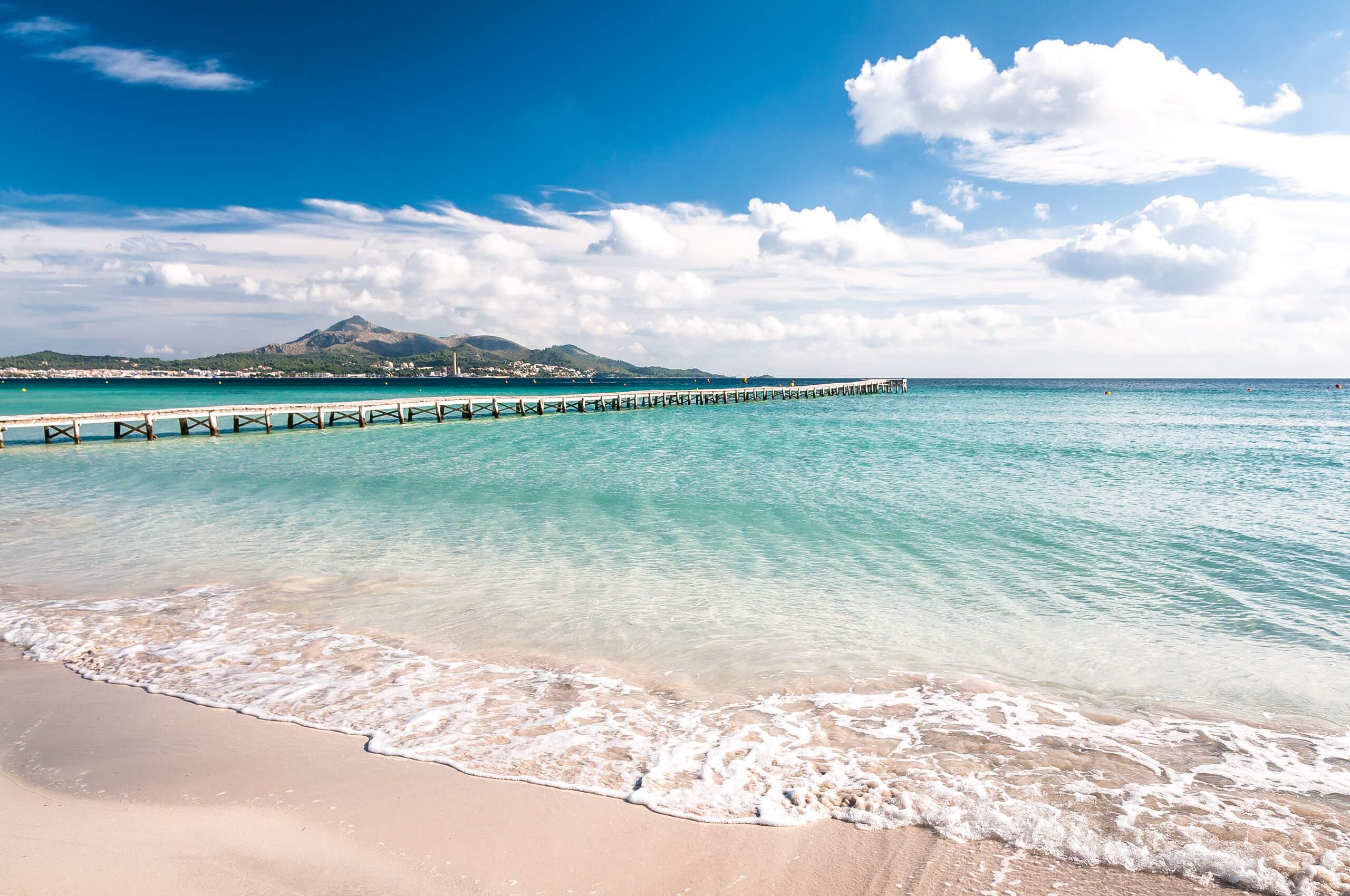 ᐅ strand playa de muro auf mallorca