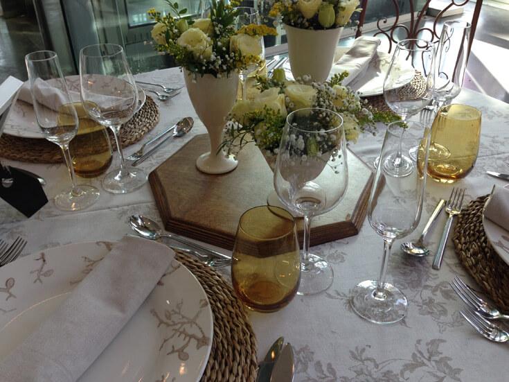 Hochzeitsdekoration fr die Hochzeit auf Mallorca