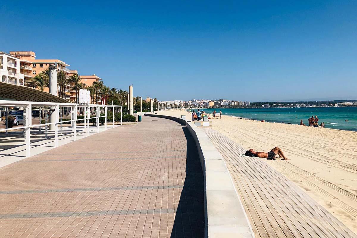 streit um liegen an der playa de palma