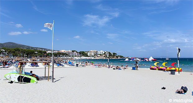 palma nova strand mallorca reiseguide