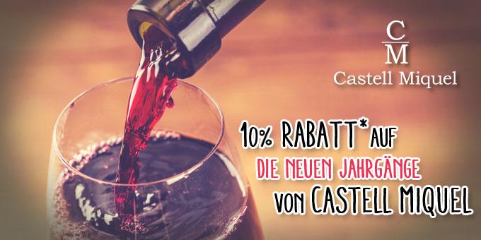 Castell Miquel - Die neuen Jahrgänge sind abgefüllt!