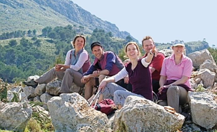 Mallorca Wandergruppe aktiv und entspannt auf Mallorca