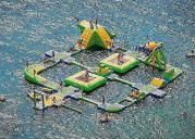 Wasser-Hüpfburg an der Playa Portals wieder da